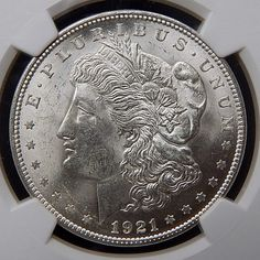1921 Us Mint Silver Morgan Dollar Graded By Ngc Ms 63 – Gold Stream Boutique