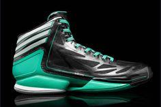 official photos 4606f 426a2 Adidas Adizero Crazy Light 2 BlackGreen Sneakers Green Sneakers, Adidas  Sneakers, Shoes
