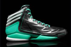 Adidas Adizero Crazy Light 2 Black/Green Sneakers