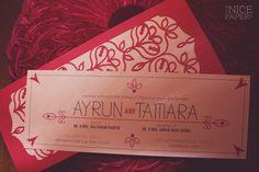 wedding invitations | Garnet & Ganesha - January's Indian Inspired BRTHSTN | The Nice Paper Co.