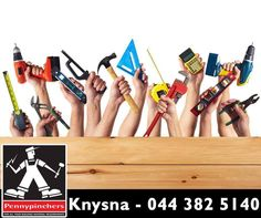 Bring all your building projects to reality with our wide range of supplies at any of our #Pennypinchers #Knysna, visit us for a quote.
