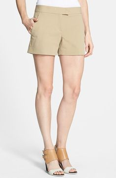 #Theory                   #Bottoms                  #Theory #'Lynie #N.B.' #Stretch #Cotton #Shorts #Khaki                        Theory 'Lynie N.B.' Stretch Cotton Shorts Tan Khaki 12                                                  http://www.snaproduct.com/product.aspx?PID=5382947