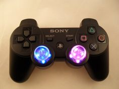 PS3 PLAYSTATION 3 LED THUMBSTICKS Modded Controller (Rapid Fire) COD Black Ops JITTER, DROP SHOT, AUTO AIM --- VISIT http://dromelabs.com
