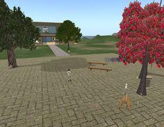 Entorn docent en Open Sim Virtual Touch Exposició Fem Recerca i activitats Relacionades.