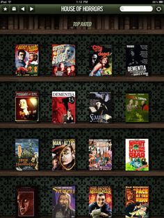 Classic scary movies (for iPad)