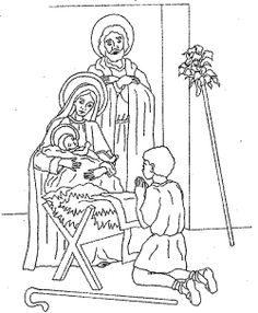 Joyful mysteries for children google search quietbook for Joyful mysteries coloring pages