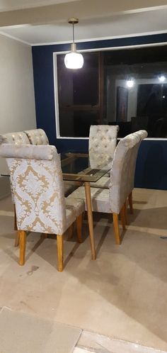 Accent Chairs, Dining Room, Curtains, Furniture, Home Decor, Upholstered Chairs, Blinds, Decoration Home, Room Decor