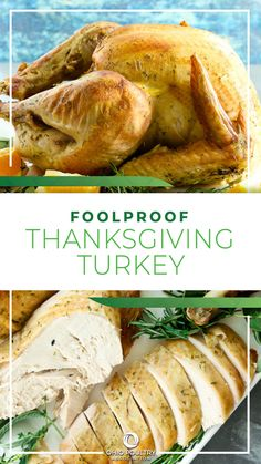 Everyone wants their Thanksgiving turkey to be perfect! This turkey recipe is easy and makes the perfect, flavorful turkey for Thanksgiving.