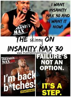 From Flab to Fab Fitness - Fitness. Food. Fun. Life. : What is Insanity Max 30 & What Does It Include?