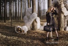 Lindsey Wixson for Mulberry's 'Where The Wild Things Are' FW12 Campaign | Fashion Magazine |