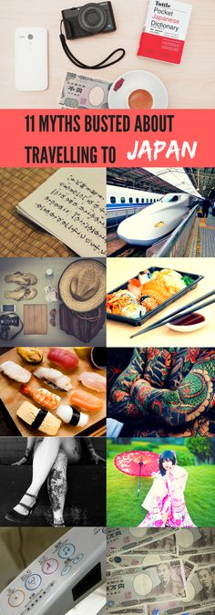 11 Myths Busted About Travelling to Japan #japan #japantrip #japanvacation #tokyo #kyoto