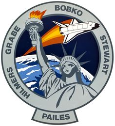 Image from https://upload.wikimedia.org/wikipedia/commons/4/41/Sts-51-j-patch.png.