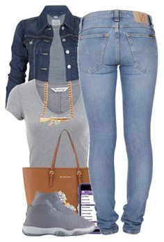 """""""2-6-15"""" by polyvoreitems5 ❤ liked on Polyvore featuring Levi's, Miss Selfridge, MICHAEL Michael Kors and Nudie Jeans Co."""