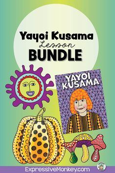 Yayoi Kusama art lesson bundle!  This set will not only help you draw mushrooms History Lessons For Kids, Art Lessons For Kids, Art Activities For Kids, Art Lessons Elementary, Art For Kids, Art Classroom Management, Art Critique, Eternal Soul, Face Images