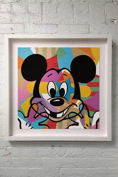 Mickey Smiling   Pop Art   Lobo   Flickr - Photo Sharing!