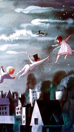 "Mary Blair ""Peter Pan"" concept art lockscreens Alice in Wonderland Cinderella"