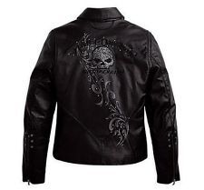 Harley Davidson Limited Willie G Wicked Leather Jacket 97123 09VW Size L | eBay