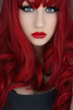 A month in hair colors! Today: red shades! | The HairCut Web!