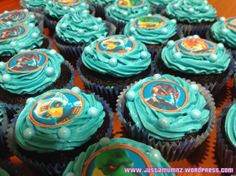 Chima Party Cupcakes - from my Blog www.justamumnz.wordpress.com