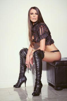 Leather Fashion : Photo