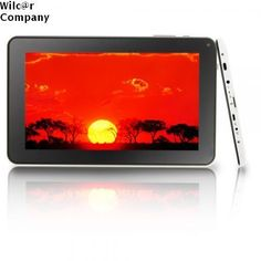 """9"""" Tablet A23 Dual-Core 8GB Android 4.2 PC HDMI Camera Black White WiFi Google  #Capacitive"""