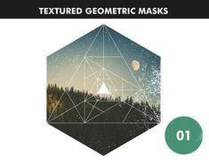 15 Digital Geometric Masks