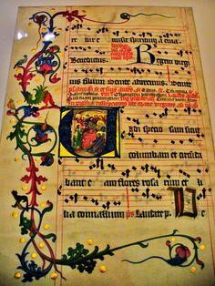 Musée du Moyen Age - Hôtel de Cluny - Paris` Slovaquie - Antiphonaire de Bratislava II
