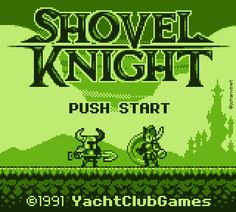 GB version of Shovel Knight :) EDIT : OK, it couldn't be possible considering the limitations of the system but that was still fun to do ;)