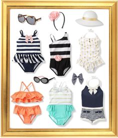 I'm in love with my stores clothes. Janie and Jack Spring Swimwear 2015