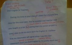 Teacher corrects student's grammar following expletive-ridden letter   - Telegraph