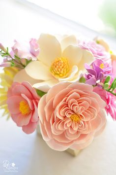 Pretty flowers and colours