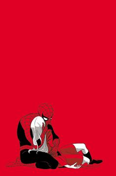 SpiderMan & Gwen Stacy by Marcos Martin Marvel Comics, Ms Marvel, Marvel Art, Marvel Heroes, Best Comic Books, Comic Books Art, Comic Art, All Spiderman, Amazing Spiderman