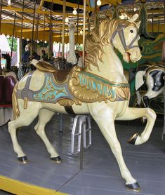 Dentzel Ornately Carved With Eagle Cantle, Centreville Carousel