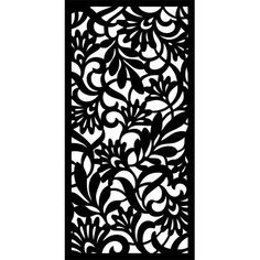 Linon Home Decor Capri Collection Black and White 4 ft. x 7 ft. Indoor Area Rug - The Home Depot