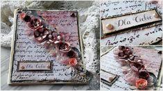 Vintage card for you Vintage Cards, Cardmaking, Decoupage, Shabby Chic, Frame, Blog, Home Decor, Making Cards, Room Decor