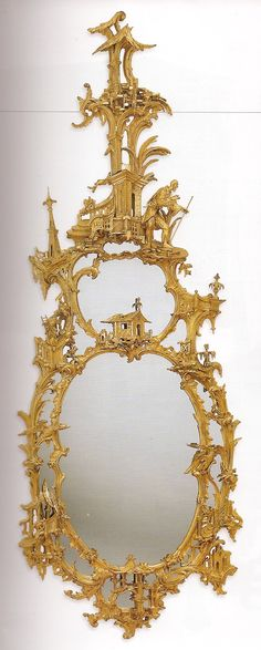 Chinoiserie Mirror, this looks like it came  off the walls of Brighton Pavilion (or a good reproduction!).