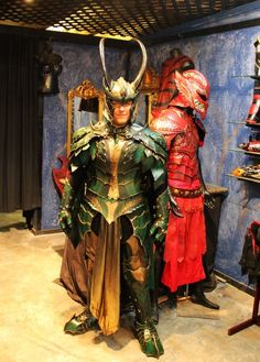 Another shot of the Loki armor by Prince Armory.