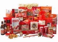 Puur kwaliteit in fris en rood ! Gevuld met: sterretjes oud&nieuw•koek bedankt•honinglollie• magdalena's• suikerwafel• tortillachips•chocola• kinderei•popcorn•baguettes•coca cola•JPtoast•biscuits•cupcake & popcakemix•meringues•kauwgombal• doritos•borrelnootjes•nibb-its•fruitshoot•cupcake thee•truffels•pasta•strooikaas•hotdogs•leverpastei•hartige biscuits•pepsels•cereal bar•tomato frito•amstel•tomatensoep•aardbeienjam•Verpakt in feestelijke doos.aantal artikelen: 39 / € 38.50 exclusief 21%…