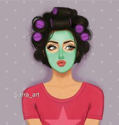 Image discovered by ~Ä F Ï F Ä ~. Find images and videos about girly and cartoonish on We Heart It - the app to get lost in what you love. Girl Cartoon, Cartoon Art, Fashion Illustration Face, Sarra Art, Girly M, Cute Girl Drawing, Girly Drawings, Cute Girl Wallpaper, Dibujos Cute