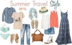 What to pack: Summer Travel Style - Savvy Sassy Moms
