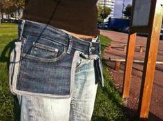 grembiule di jeans