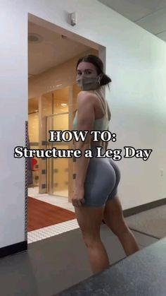 Buttocks Workout, Leg And Glute Workout, Slim Waist Workout, Gym Workout Videos, Gym Workout For Beginners, Fitness Workout For Women, Gym Workouts, Leaner Legs Workout, Leg Workout Women