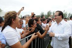 """""""Maestras y maestros que han sido aliados de mi gobierno y de la transformación de Veracruz, por ello, este encuentro es una oportunidad para expresarles mi reconocimiento y compromiso, expresó el gobernador Javier Duarte de Ochoa."""