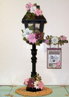 Christmas Lamp Post by Clownmom - Cards and Paper Crafts at Splitcoaststampers