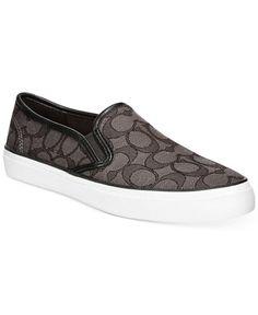 COACH Chrissy Slip-On Logo Sneakers