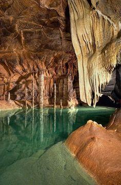 Križna Jama Cave, Grahovo, Slovenia
