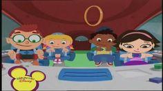 Los amigos de Little Einstein viajan a  Saturno