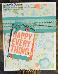jd designs: Happy Everything Blog Hop #CTMH