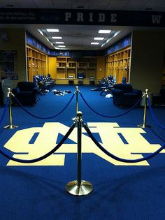 """locker room. Like the Irish? Be sure to check out and """"LIKE"""" my Facebook Page https://www.facebook.com/HereComestheIrish Please be sure to upload and share any personal pictures of your Notre Dame experience with your fellow Irish fans!"""