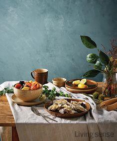 가을 요리를 만난 덴비 스튜디오 크래프트, 단풍 빛 가을 그리고 식탁 : 네이버 포스트 Food Photography Styling, Food Styling, Food Design, Cute Food, Yummy Food, Waffles, Churros, Food Menu, Food Plating